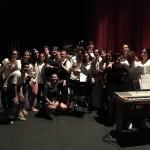 Actuación final de curso 2015-16 del grupo instrumental del IES Joaquín Romero Murube
